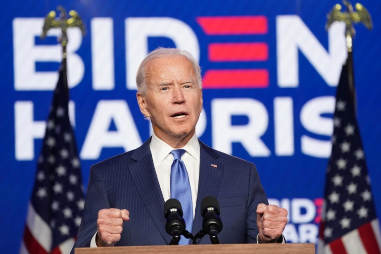 "Biden Quotes Ecclesiastes and Catholic Hymn ""On Eagle's Wings"" in Victory Speech"