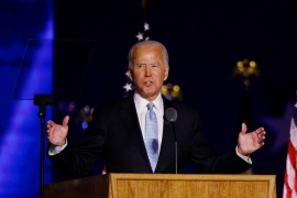 Biden calls for healing in appeal to Trump voters: Live news