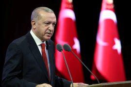 Turkey rejects the maritime boundary claims of Greece and the Greek Cypriot administration, says President Recep Tayyip Erdogan [File: Reuters]