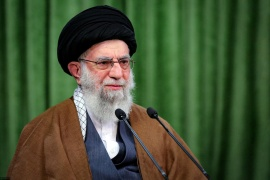 According to Khamenei, Iran has many ways to nullify the sanctions [File: Official Khamenei website/Handout via Reuters]