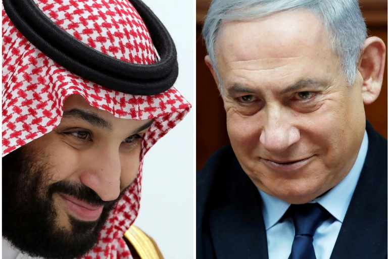 Israeli media quoted multiple Israeli officials as saying that Netanyahu and the head of the Mossad spy agency, Yossi Cohen, 'flew yesterday to Saudi Arabia, and met Pompeo and MBS in the city of Neom' [Reuters]