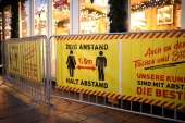 Rising COVID infections in Germany have forced the closure of restaurants, bars, hotels and entertainment venues since November 2, likely denting the economy [Hannibal Hanschke/Reuters]