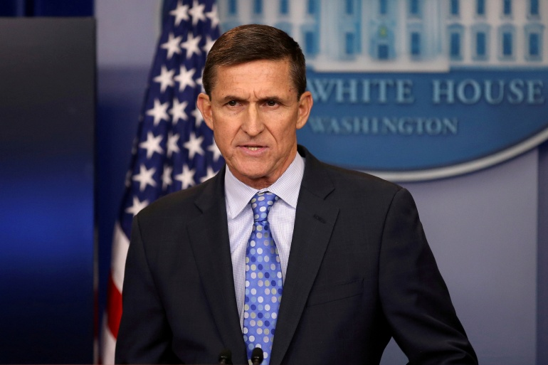 Trump pardons former National Security Adviser Michael Flynn | Donald Trump News | Al Jazeera