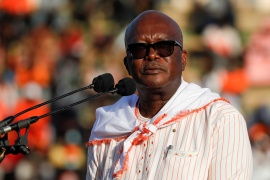 Kabore won the vote despite poor approval ratings for his performance on security [File: Zohra Bensemra/Reuters]