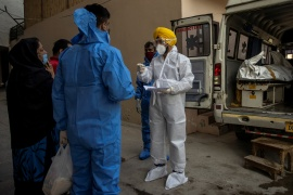 Coronavirus cases and deaths from the virus are surging in India once again [File: Danish Siddiqui/Reuters]