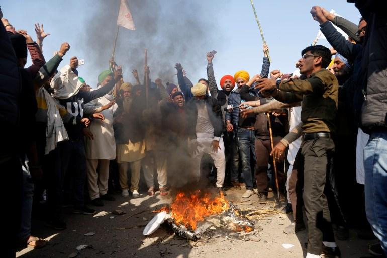 Indian farmers continue anti-farm bills protests   India   Al Jazeera
