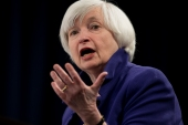 Former Federal Reserve Chair Janet Yellen says money raised from higher corporate tax rates could be used to invest in infrastructure and other programmes that boost American businesses [File: Carolyn Kaster/AP]