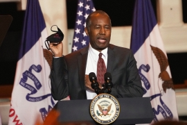 Ben Carson is the latest attendee of White House party to test positive for COVID-19 [Nati Harnik/AP Photo]