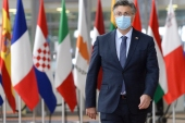 Plenkovic started isolating two days ago after his wife contracted the coronavirus [File: Johanna Geron/AP]