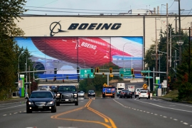 The EU pressed ahead on Monday with plans to impose tariffs and other penalties on US goods and services over illegal American support for planemaker Boeing [File: Elaine Thompson/AP]