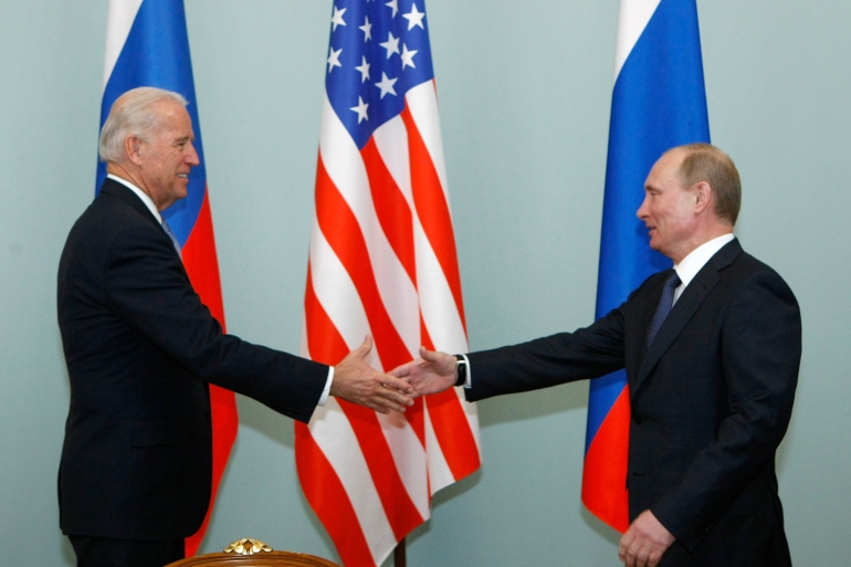 Biden's approach to Moscow is far more consistent than Trump's and is part of his strategy of restoring the US's global clout [File: Alexander Zemlianichenko/AP Photo]