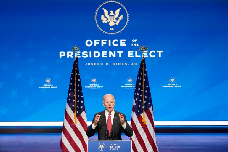 President-elect Joe Biden has named nominees for national security and foreign policy cabinet positions [Andrew Harnik/AP Photo]