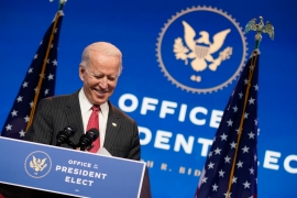 President-elect Joe Biden continues to forge ahead with transition as Trump still refuses to concede [Andrew Harnik/The Associated Press]