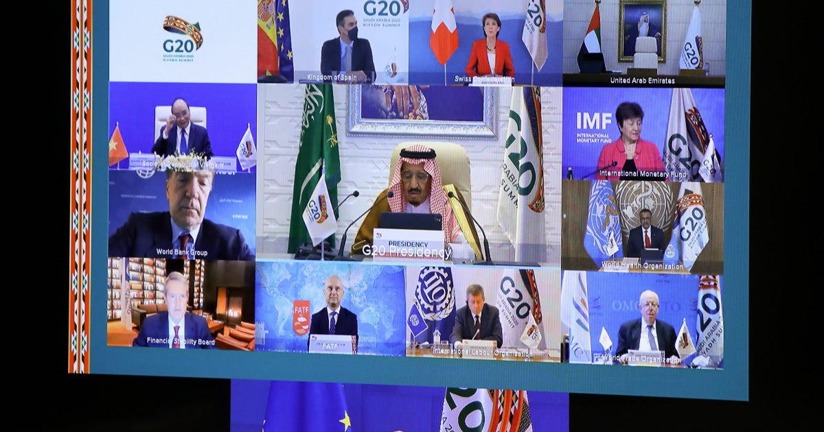G20 leaders back 'equitable' global access to COVID-19 vaccines