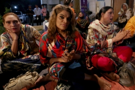 The First Church of Eunuchs is the only one for transgender Christians in Pakistan [Fareed Khan/AP]