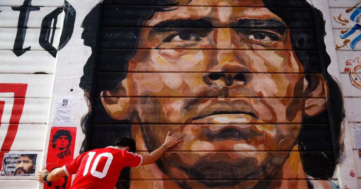 Argentina mourns as Maradona's coffin reaches presidential palace - Al Jazeera English