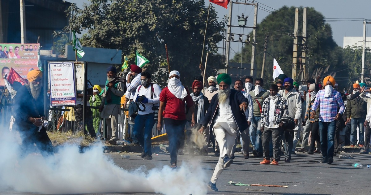 In Pictures: Angry India farmers march against 'pro-market' laws