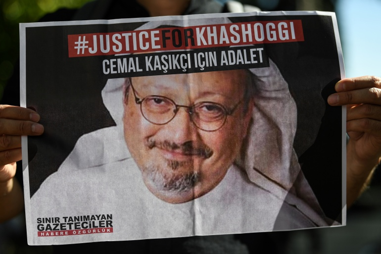 Khashoggi, a Washington Post columnist, was killed and dismembered at the Saudi consulate in Istanbul on October 2, 2018 [File: Ozan Kose/AFP]