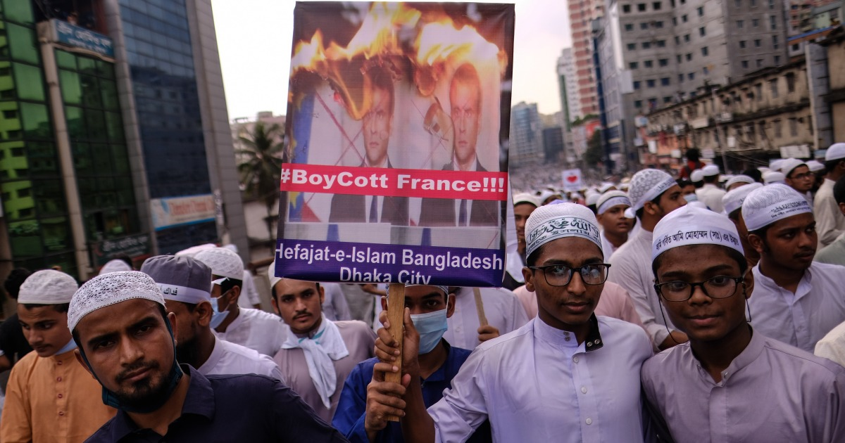 Why is Bangladesh protesting against France? | Bangladesh