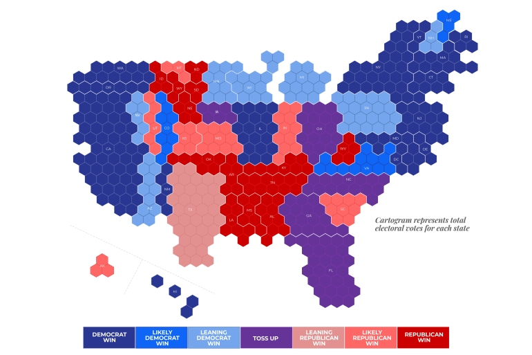 Us State Voting Map Everything you need to know about US elections – in infographics