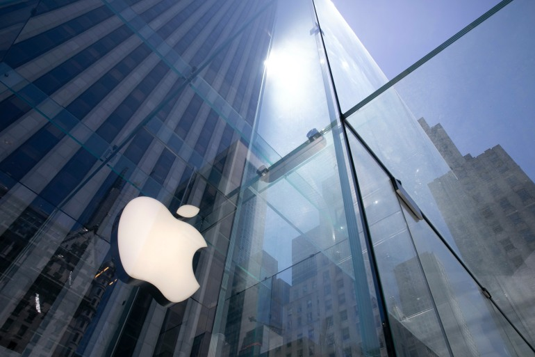 Apple has come under scrutiny about whether it uses commission generated from its App Store to unfairly fatten its profits and stifle rivals competing against its own music, video, and other subscription services [File: Mark Lennihan/AP Photo]