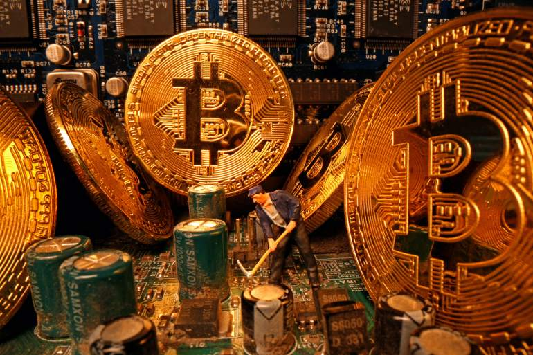The cryptocurrency market has run hot this year as big money managers begin to take the asset class seriously [Dado Ruvic/Reuters]