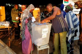 Burkina Faso counts votes after threat of violence disrupts polls