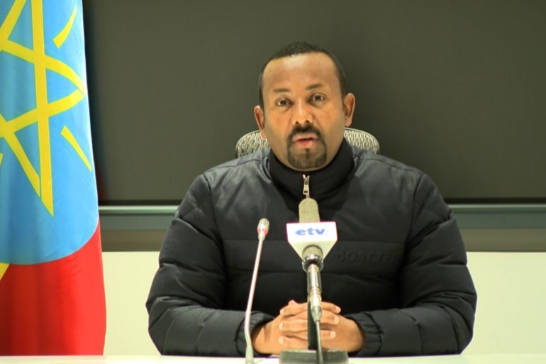 Abiy ordered air attacks on military assets in the Tigrayan regional capital last week [Reuters]
