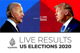 US elections: Live results map