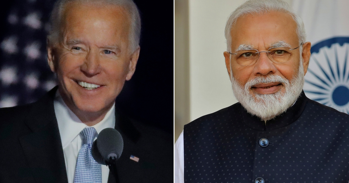 Biden, Modi pledge to strengthen US-India ties in phone call - Al Jazeera English