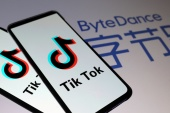 The claimants in the UK class action suit say every child who has used TikTok since May 25, 2018, may have had private personal information illegally collected by ByteDance through TikTok for the benefit of unknown third parties [File: Dado Ruvic/Reuters]