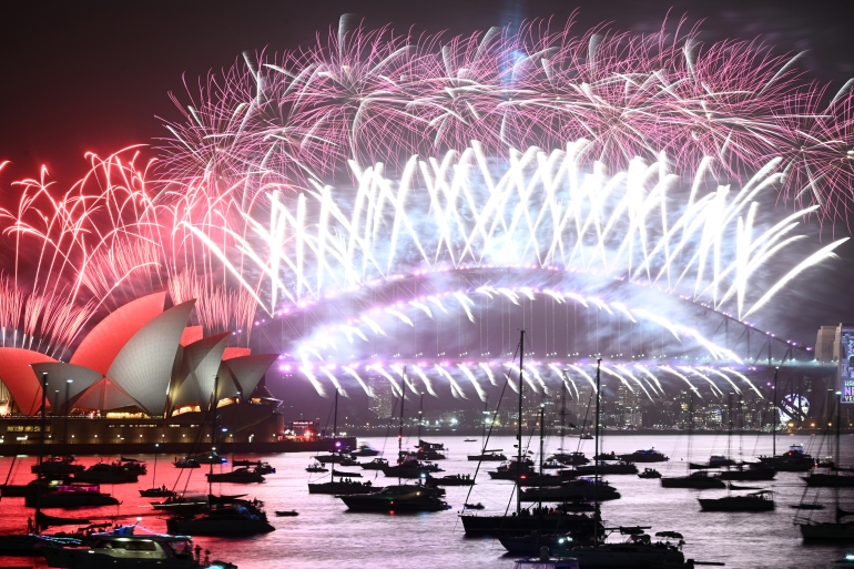 Sydney puts on a huge fireworks display on New Year's Eve [File: Peter Parks/AFP]