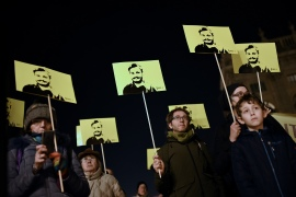 Giulio Regeni's body was found by the side of a road on the outskirts of Cairo in February 2016 with signs of extensive torture [File: Marco Bertorello/AFP]