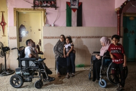About 48,000 people in Gaza, or about 2.4 percent of the population, have a disability, according to official statistics [File: Said Khatib/AFP]