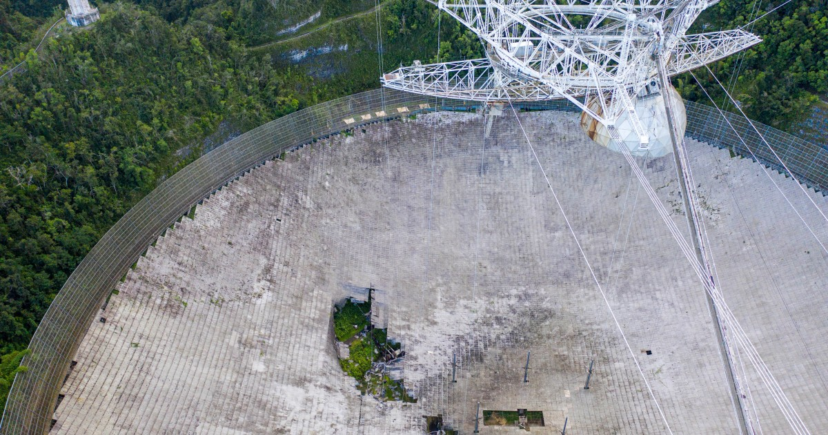 Puerto Rico's Arecibo telescope, once world's largest, collapses - Aljazeera.com