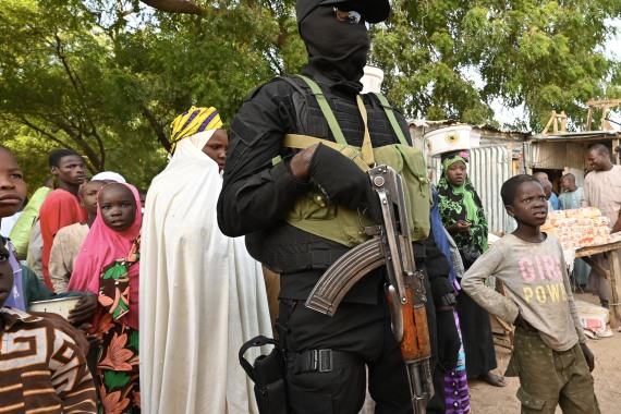More than 36,000 people have been killed and three million people have fled their homes since Boko Haram launched its attack in northeast Nigeria in 2009 [File: Issouf Sanogo/AFP]