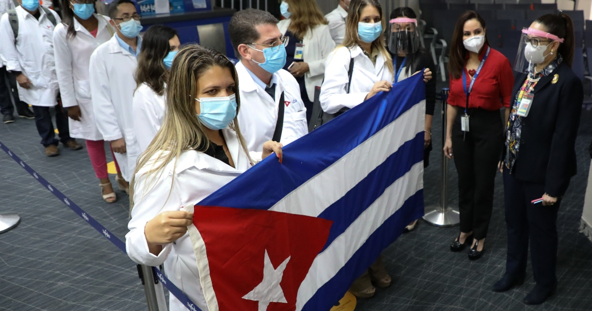 Cuban doctors arrive in Panama to boost COVID fight thumbnail