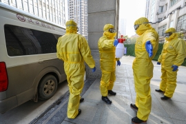 WHO said international experts would go to the central Chinese city of Wuhan, where the first cases of COVID-19 were detected last December [File: China Daily/Reuters]