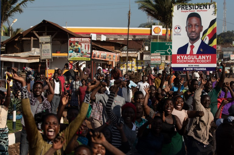 Singer and presidential candidate Bobi Wine had rallies scheduled in Kampala next week [Getty Images]