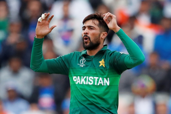 Amir last month announced his international retirement in protest over 'shabby' treatment he said he received from the Pakistan management [File: Action Images via Reuters/Andrew Boyers]