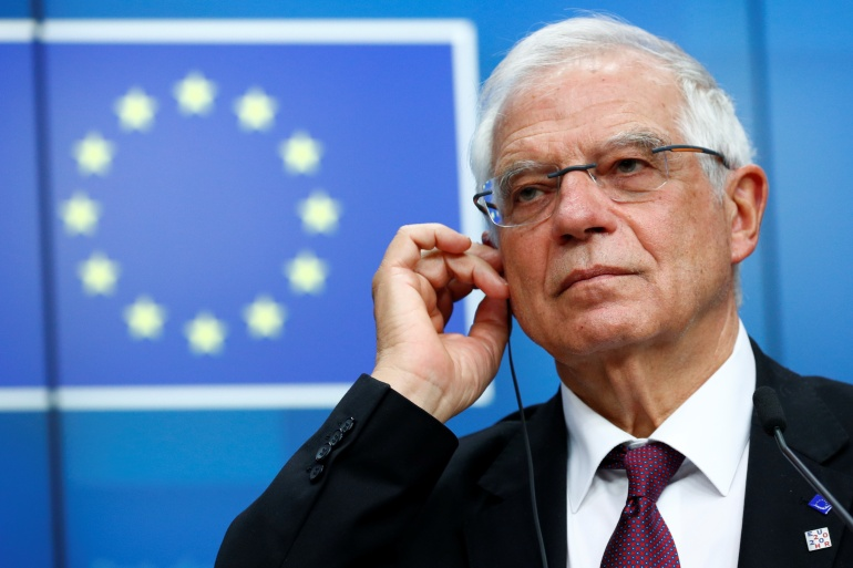 EU foreign policy chief Josep Borrell says the meeting's aim was to 're-emphasise our commitment to preserve' JCPOA [File: Francois Lenoir/Reuters]