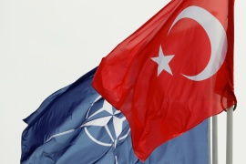 With positions rapidly hardening between Washington and Ankara the potential, for a Turkish exit from NATO is now a possibility [File: Francois Lenoir/Reuters]