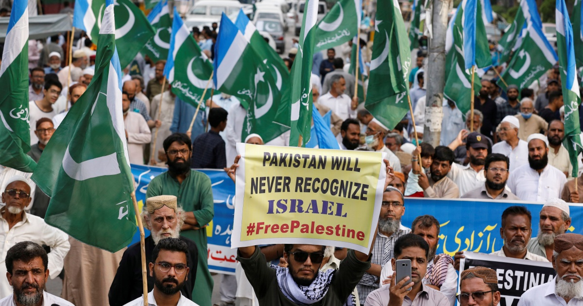 Can't recognise Israel until Palestine resolved: Pakistan to UAE thumbnail