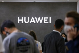 Huawei is one of the Chinese companies caught in the heightened trade tensions between Beijing and Washington [File: Michele Tantussi/Reuters]