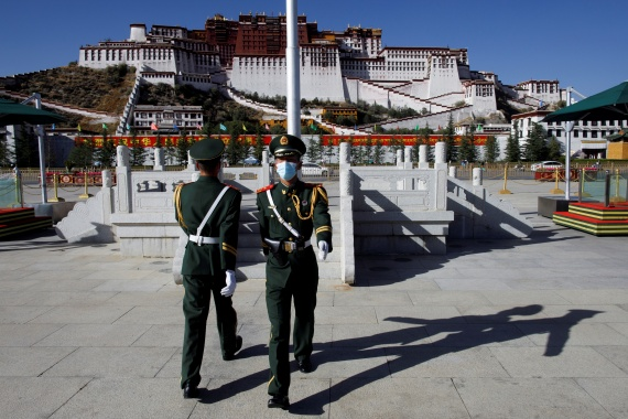 China seized control of Tibet in 1950 and the Dalai Lama went into exile nine years later after a failed uprising against communist rule [File: Thomas Peter/Reuters]