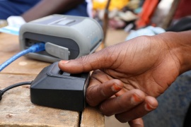 Nearly every African country with a stable government now has active biometric ID programmes in place or under way, according to ID4Africa [File: Feisal Omar/Reuters]