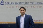 Adar Poonawalla, CEO of Serum Institute of India, the world's biggest vaccine maker [File: Francis Mascarenhas/Reuters]
