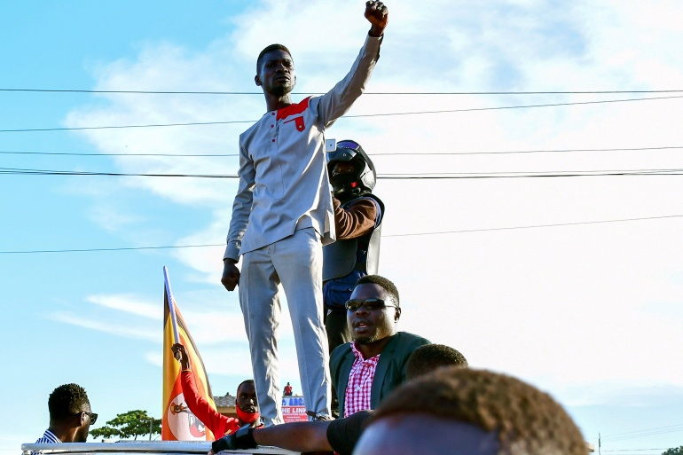 Violence has escalated in Uganda as authorities crack down on supporters of Bobi Wine, who is seeking to end the decades-long rule of President Yoweri Museveni [File: Abubaker Lubowa/Reuters]
