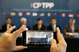 It is not clear if Taiwan will be accepted in the 11-country Comprehensive and Progressive Agreement for Trans-Pacific Partnership, as China has also shown an interest in joining the trade pact [File: Rodrigo Garrido/Reuters]