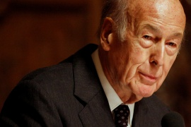 Former French President Valery Giscard d'Estaing has died of complications from COVID-19. He was 94. [File: Morris Mac Matzen/Reuters]
